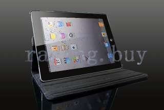 High quality Leather Roating Stand Case , to Allow You Use Your iPad