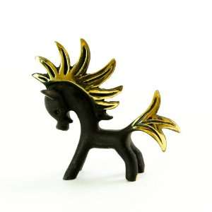 Walter Bosse Brass Fire Horse Figurine