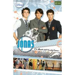 Jonas TV 2011 Weekly Planner (9781438806488) DateWorks Books