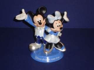 Disney Mickey Minnie Mouse Arribas Dance Figurine