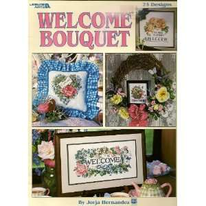 , Leisure Arts 3074, Cross Stitch 23 designs: Jorja Hernandez: Books