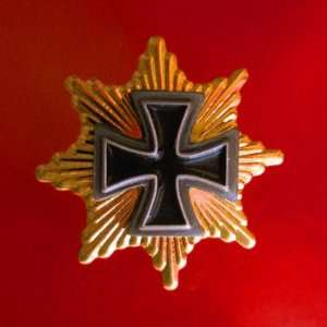 STAR OF GRAND IRON CROSS ARMY INSIGNIA PRUSSIA EMPIRE AWARD BADGE PIN
