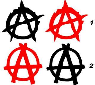 Anarchy Sticker Window Vinyl Skate Motorcycle Sons of