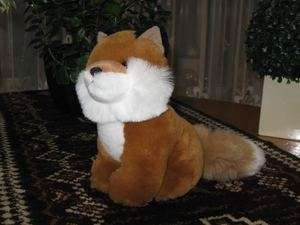 Morbidelli Asti ITALY Plush FOX Stuffed Animal