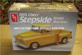 AMT/ERTL Plastic Model Kit # 6004 1955 Chevrolet Stepside Pickup Truck