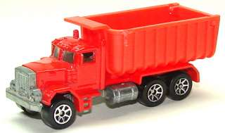 Hot Wheels # 100 Peterbilt Dump Truck