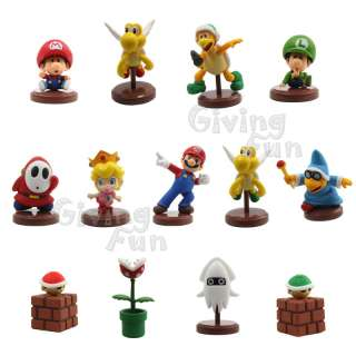GENUINE Furuta Super Mario Bros 13 Figure Set Part 3