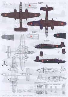 Authentic Decals 1/72 B 25 MITCHELL Bomber in the Russian Sky