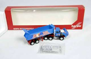Con Cor White / Freightliner Terra Dump Tractor Trailer 187