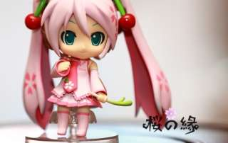 Sakura Hatsune Miku anime PVC Doll Figure toy with Box 11cm