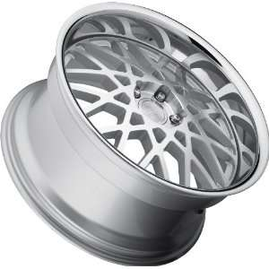 Concept One 771 RS 22 Silver Machined Wheel with Painted Finish (20x8