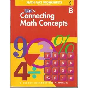 Connecting Math Concepts   Math Facts Blackline Masters
