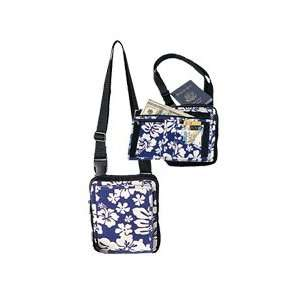 Canvas Travel Shoulder Bag / Blue Arts, Crafts & Sewing