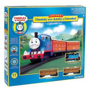 NEW Bachmann 00642 Thomas with Annie Clarabel HO Scale Train Set