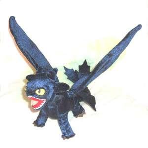 Train Your Dragon Toothless Night Fury Plush Stuffed Toy Doll