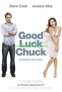 GOOD LUCK CHUCK MOVIE POSTER JESSICA ALBA DRESS STYLE