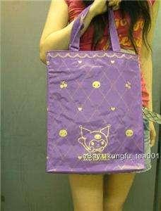Sanrio Kuromi Devil Reusable Tall Shopping Grocery Bag