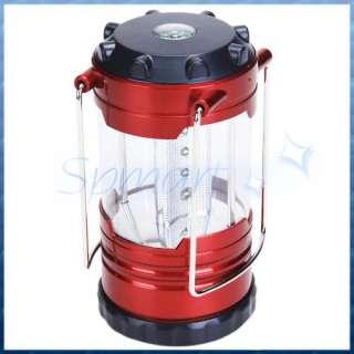 12LED Portable Camping Bivouac Lantern Light &Compass