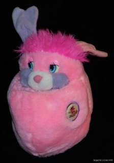 Popples Party Popple Pink Vintage Plush Large 14 1985 American