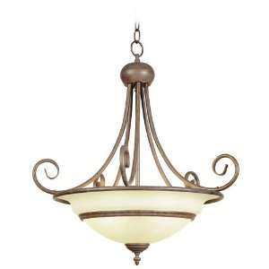 Bexhill Collection 24 Wide Bronze Pendant