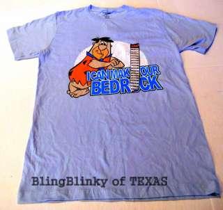 Flintstone Hanna Barbera T Shirt Make Your BEDROCK Spencers Medium NEW