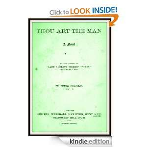 Thou Art the Man V2 Mary Elizabeth Braddon  Kindle Store