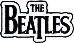 The Beatles Name Logo iron or sew on Patch p1121: Clothing