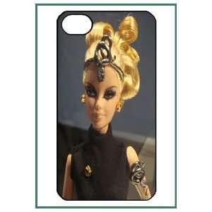 Barbie iPhone 4s iPhone4s Black Designer Hard Case Cover