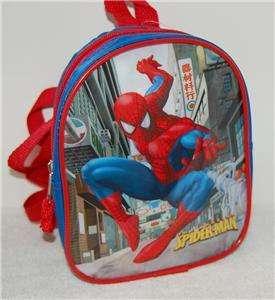 Spiderman Little Kids Backpack NWT Spider Man BackPack