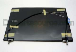 NEW DELL Latitude E6400 LCD Back Cover & Hinges MT649