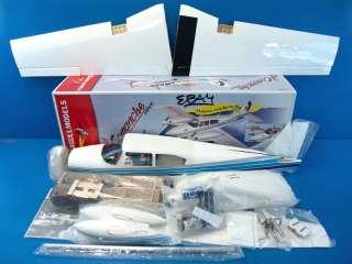 Seagull Piper Twin Comanche 46 ARF R/C RC Airplane Kit Civilian SEA134