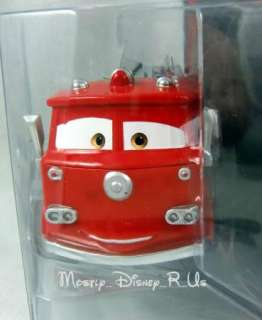 Disney Pixar CARS 2 Movie Deluxe Red Fire Engine Truck #3 Diecast