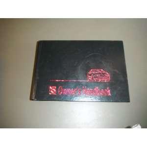 1995 Saturn Owners Handbook: SATURN:  Books