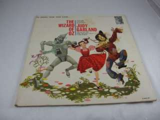 Wizard of Oz Soundtrack Record, Judy Garland, MGM Album
