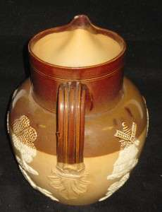 Doulton Lambeth Harvest Jug Pottery Stoneware 20th Century