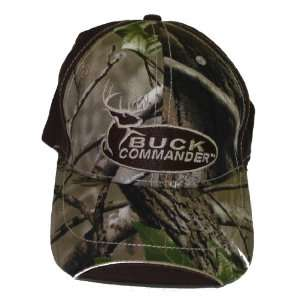 Buck Commander ~ Camo Brown ~ Deer Hunting Hat Cap New