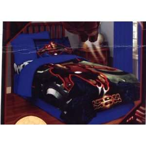 Brand New Marvell Iron Man Twin Comforter Bed Set with Fitted Sheet
