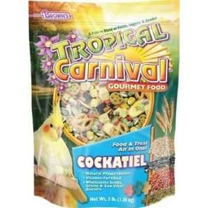 Cockatiel Lovebird & Conure Bird Food 6 2 lb Bags: Pet Supplies