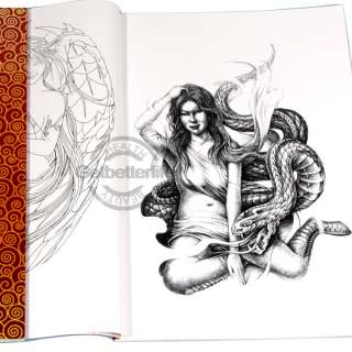 Zoora Hairstyle : Chinese Tattoo Flash Designs Book Flydragon Tattoo Supplies Books