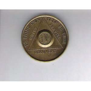 Anonymous AA 4 Year Chip Token Medal Medallion: Everything Else