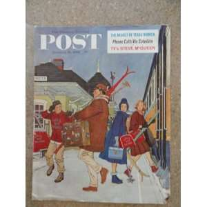 The Saturday Evening Post Magazine January 14,1961 (Cover Only) cover