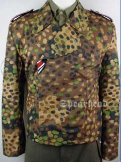 WW2 German Dot 44 Camo Panzer Wrap S XXL
