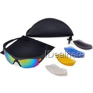 color lens Sport Riding Bicycle Bike Cycling Glasses Sunglass Goggle