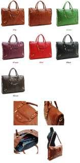 New Hollywood Vintage Leather Shoulder Big Tote Hand Bag
