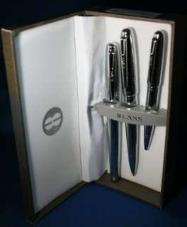 Bill Blass Normandie BB0159 3 Chrome Trio Pen Set Cross