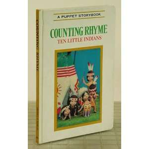 Counting Rhyme Ten Little Indians Pictures by T Izawa and