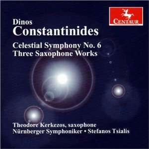 Three Saxophone Works Dinos Constantinides, Stefanos Tsialis Music
