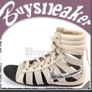Nike Wmns Gladiateur II Birch/Metallic Silver Black 2011 Sandals