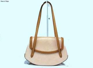 LOUIS VUITTON LV Biscayne Bay Vernis Pink Shoulder Bag