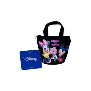 Disney Mickey & Minnie Mouse Black Coin Purse & Handle Toys & Games